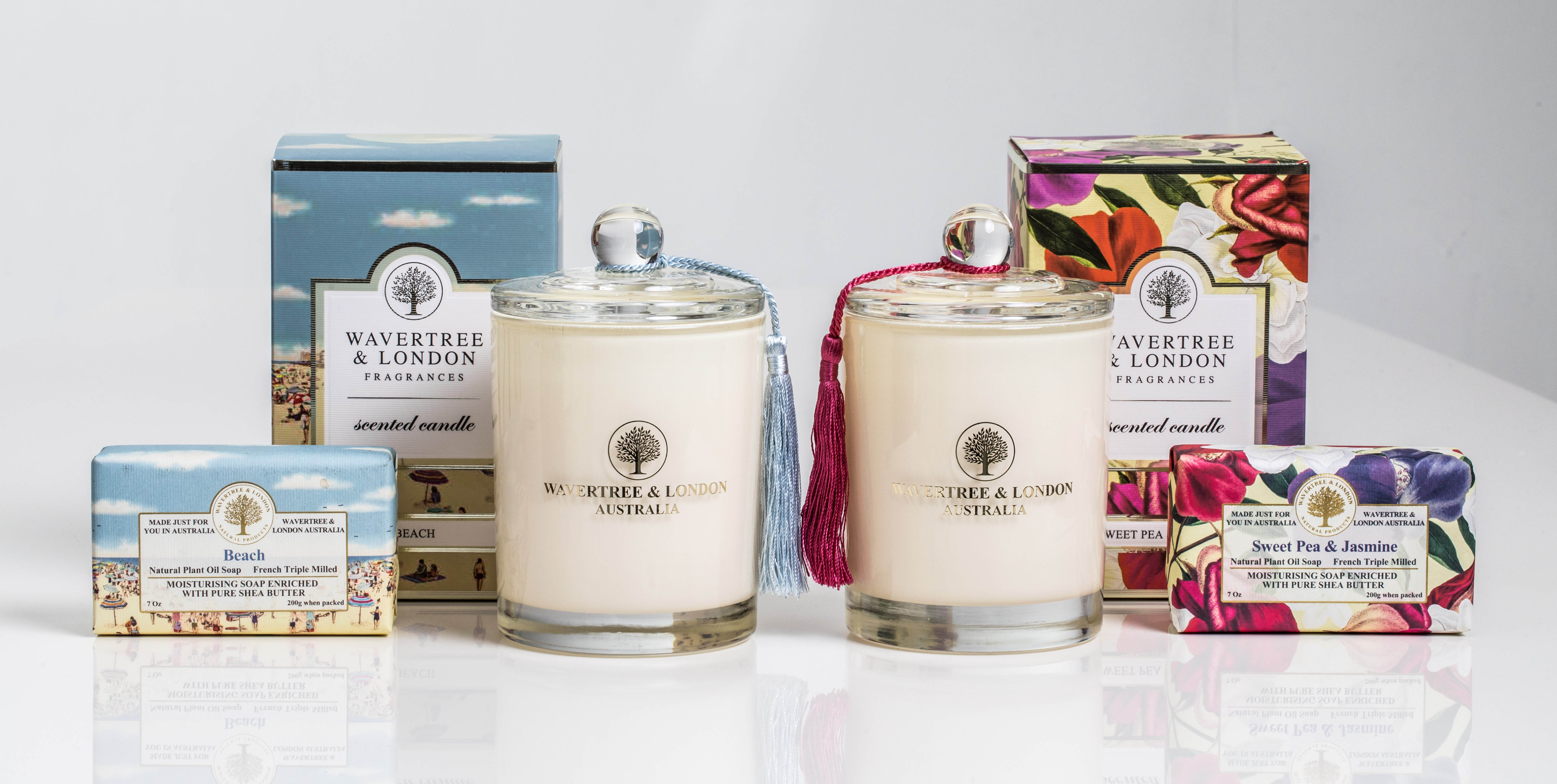 Wavertree & London scented soaps and candles