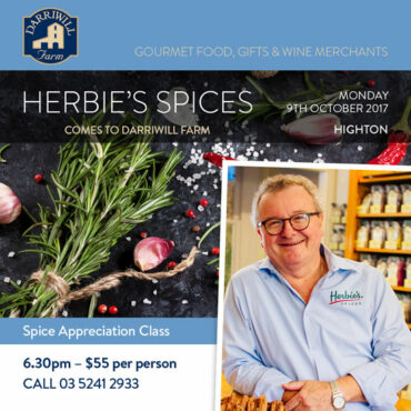 Herbie's Spices comes to Darriwill Farm Highton
