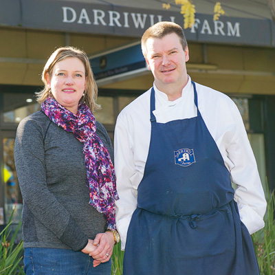 Darriwill Farm Highton co-owners Fleur and Jim Whelan