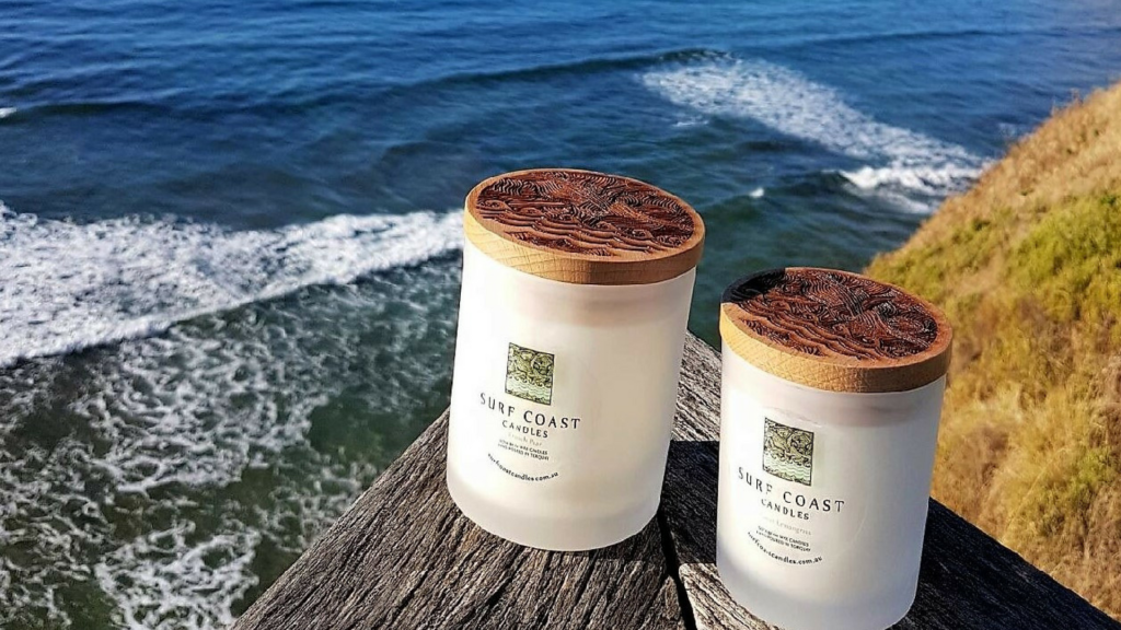 Surf Coast Candles inspired by Victoria's Great Ocean Road beaches