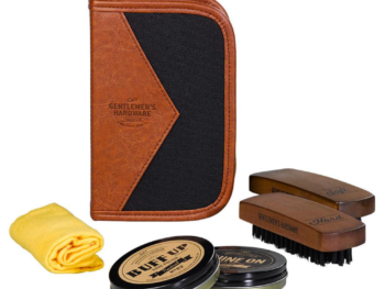 Gentlemen's Hardware Buff and Shine Shoe Kit