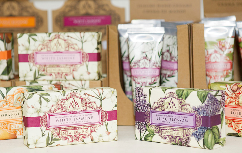 Scented gifts for saying thank you