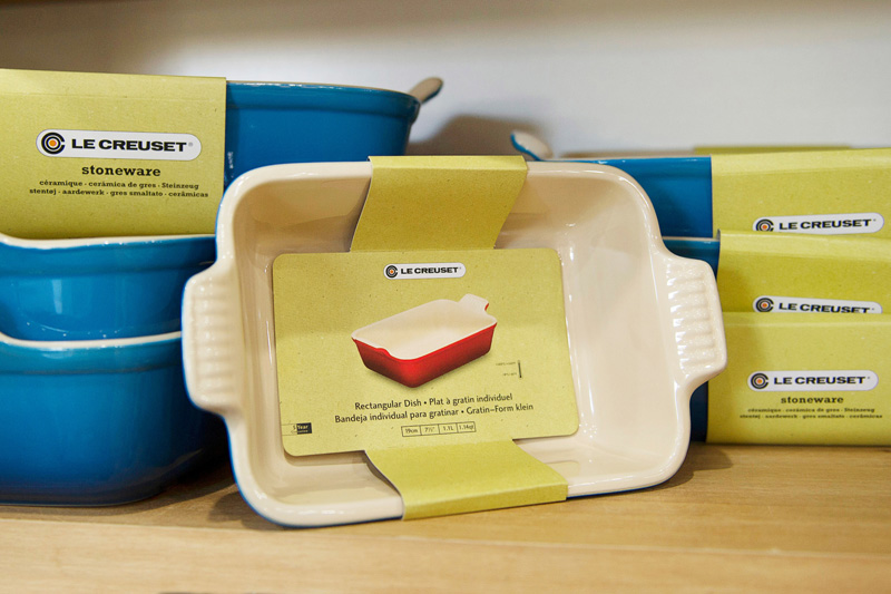 We stock a range of Le Creuset baking essentials