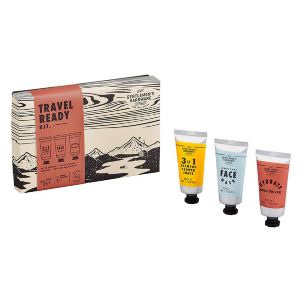 Gentlemen's Hardware Travel Ready Kit